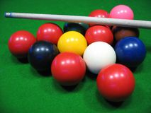 Billiardtabelle Stockbilder