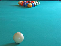 Billiardtabelle Stockfoto
