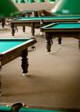 billiardtabeller Arkivfoton