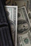 Billie-Dollar mit Geldbörse stockbilder