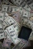 Billie-Dollar mit Geldbörse stockfoto