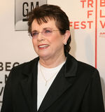 Billie Jean King Royalty Free Stock Image