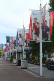 Billie Jean King National Tennis Center bereit zu US Open-Turnier 2013 Stockfoto