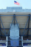 Billie Jean King National Tennis Center ready for US Open 2013 tournament Stock Photos