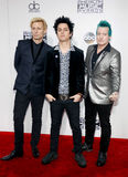 Billie Joe Armstrong, Tre Cool and Mike Dirnt Royalty Free Stock Image