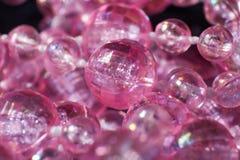 Billig plast- sfärmakro royaltyfri foto