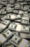 Billion Dollars Royalty Free Stock Photos