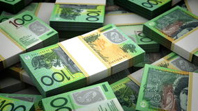 Billion New Zealand Dollar stock video