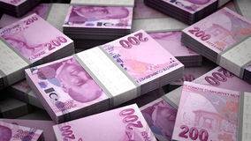Billion Turkish Lira Stock Image