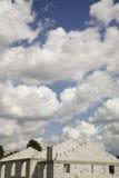Billow van wolken stock foto