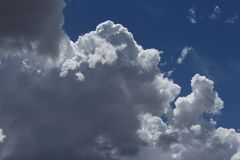 Billowing Clouds royalty free stock photography