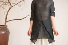 Billowing skirts-China tea clothing Royalty Free Stock Photos