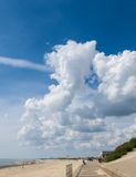 Billowy Clouds Royalty Free Stock Photos