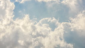 Billowy timelapse облаков акции видеоматериалы