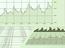Bills. Financial bills , growing business stats Royalty Free Stock Photos