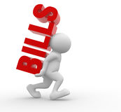 Bills Royalty Free Stock Images