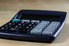 Bills, documents and papers with calculator. Office of the accounting office. stock photos
