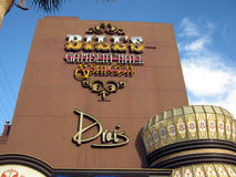 Bills Gamblin' Hall and Saloon eaturing Drai's Stock Photo
