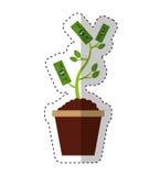 Bills plant isolated icon Stock Photos