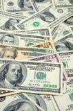 bills stänger dollaren upp oss Royaltyfria Bilder