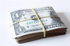 Bills - Tied dollar. Royalty Free Stock Image