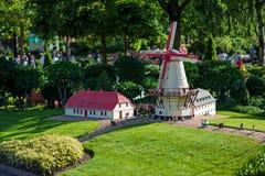 BILLUND - 31 de julho de 2013: Legoland em Billund, Dinamarca o 31 de julho Fotografia de Stock Royalty Free