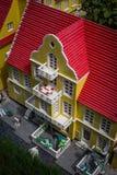 Billund, Denemarken - Juli 27, 2017: Close-up van het huis in Skagen Royalty-vrije Stock Fotografie