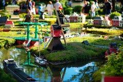 BILLUND - Juli 31, 2013: Legoland i Billund, Danmark på Juli 31 Royaltyfria Foton
