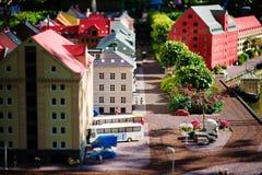 BILLUND - Lipiec 31, 2013: Legoland w Billund, Dani na Lipu 31 Obraz Royalty Free