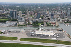 Billy Bishop Airport, Toronto, Ontario Royalty Free Stock Image