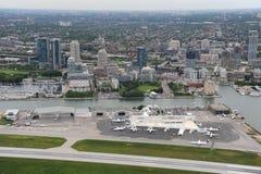 Billy biskupa lotnisko, Toronto, Ontario obraz royalty free