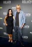 Billy Bob Thornton Angland i Connie obraz stock