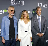 Billy Bob Thornton, Maria Bello och David E kelley Arkivfoto