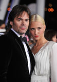 Billy Burke,. Billy Burke & wife at the world premiere of his new movie The Twilight Saga: Breaking Dawn - Part 1 at the Nokia Theatre, L.A. Live in downtown Los Stock Photo