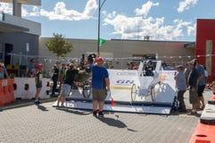 Billy Cart Festival : Établissement des chariots Image stock