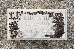Billy Carter grób zdjęcia royalty free