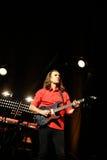 Billy Cobham zespół żywy na scenie w LODOWY Krakowskim zdjęcie royalty free