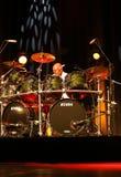 Billy Cobham zespół żywy na scenie w LODOWY Krakowskim zdjęcia royalty free
