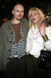 Billy Corgan et Courtney Love Photos stock