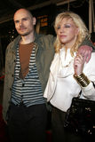 Billy Corgan i Courtney Love zdjęcia stock