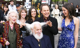 Billy Crystal et famille Images stock