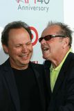 Billy Crystal,Jack Nicholson Royalty Free Stock Photography