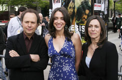 Billy Crystal,lindsay Crystal,Janice Crystal  Royalty Free Stock Images