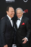 Billy Crystal & Mel Brooks Royalty Free Stock Photo
