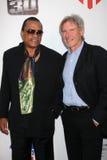 Billy Dee Williams, Harrison Ford, William Harrison fotografia stock