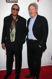 Billy Dee Williams, Harrison Ford, William Harrison zdjęcie stock