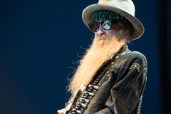 Billy Gibbons Royalty Free Stock Image