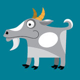 Billy goat cartoon Stock Images