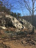 Billy Goat Trail, Potomac, M.D. Royalty-vrije Stock Afbeelding