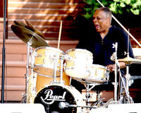 Billy Hart and the Joy of the Drums Stock Image